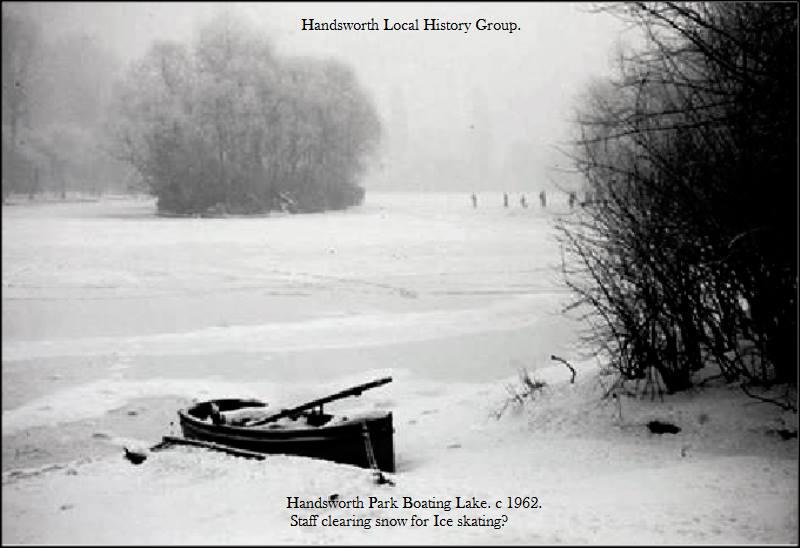 1962 Frozen Lake