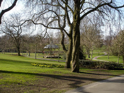 Bandstand from the path