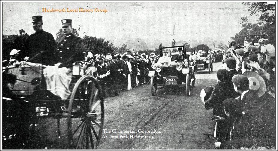 The Chamberlain Celebration