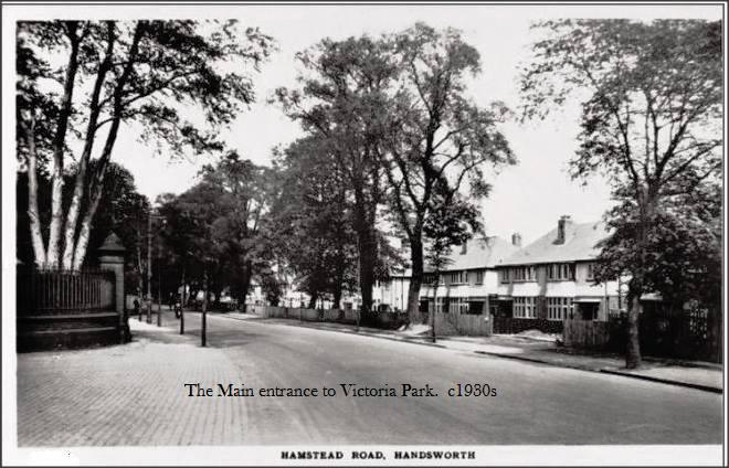 The Hamstead Road Entrance