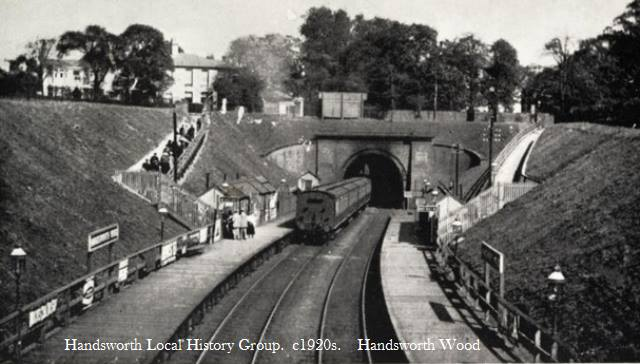 Handsworth Wood Station