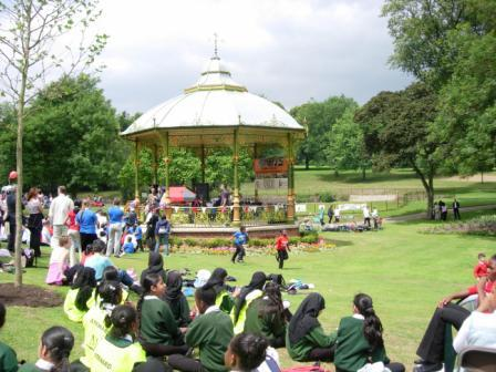 Refurbished Bandstand
