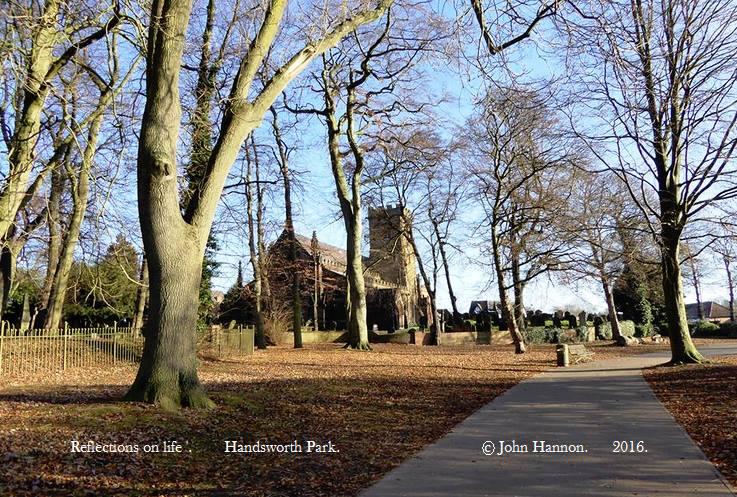 Towards Graveyard and Church