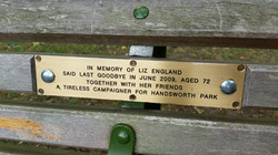 Tribute to Liz England