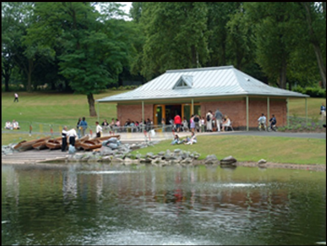 Redeveloped Boathouse