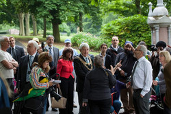 Launch of the Arts Trail in 2015.