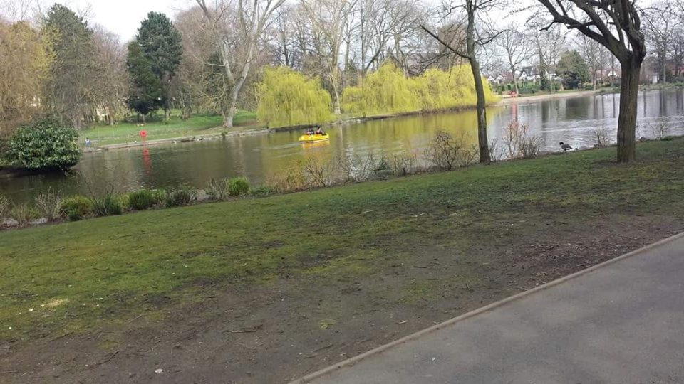 Boating Lake in April 2015