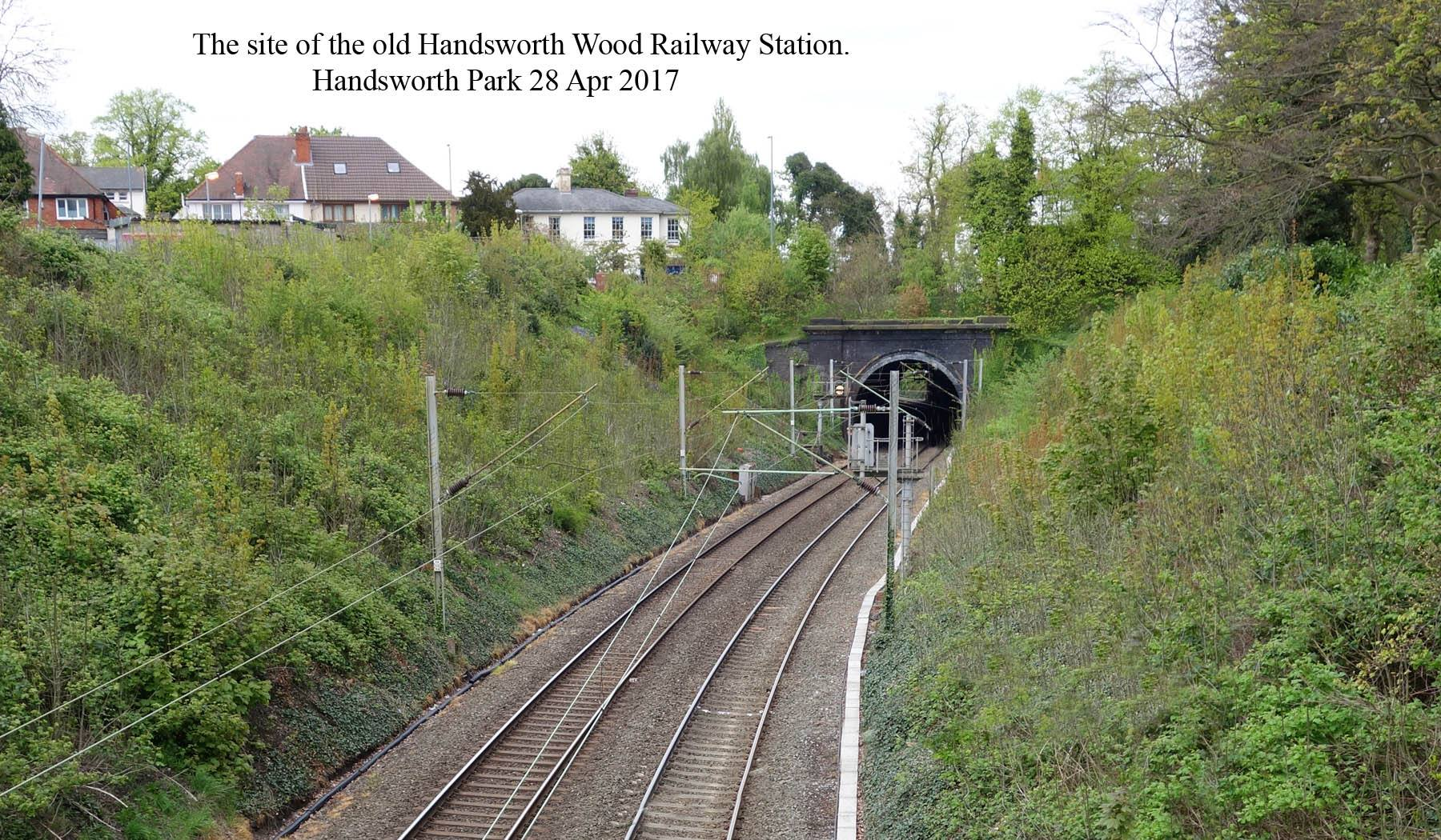 Site of Handsworth Wood Station