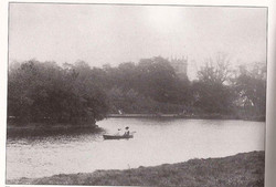 Black and White Boating Lake