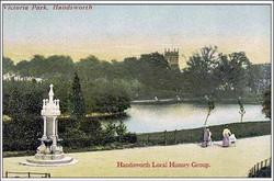 Promenade by the Fountain