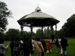 Handsworth Park bandstand