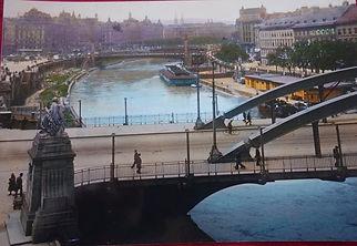 Augarten Bridge, Vienna, Austria