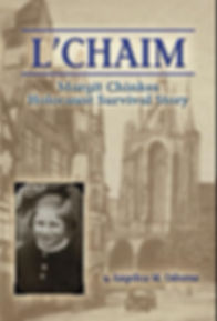 book cover, L'Chaim Margit Chinkes Holocaust Survival Story