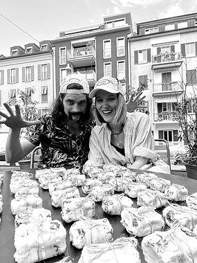 Yvonne Wigger and Hans Kaufmann