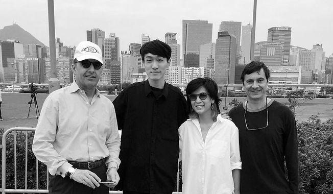 Max Burger, Elaine Ng, Fabio Rossi & Isaac Chong