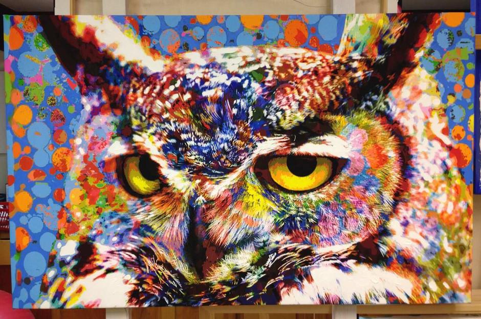 Great Horned Owl (2015)