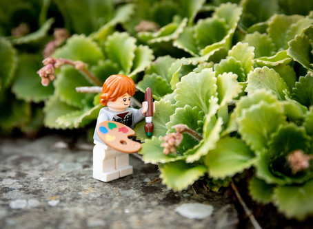 Children's Photography Project - Lego Perspective