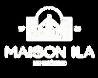 Maison Ila Logo White