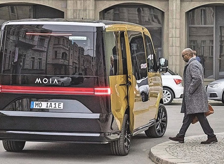 Electric Cars and Ride-Sharing: A Closer Look at MOIA's Value Proposition