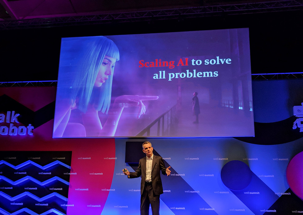 What does AI-powered society look like? | Antoine Blondeau (Sentiest Technologies)