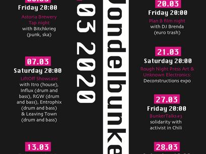Vondelbunker March 2020 Poster