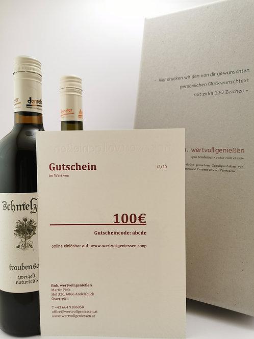 fink. | GUTSCHEIN 100plus