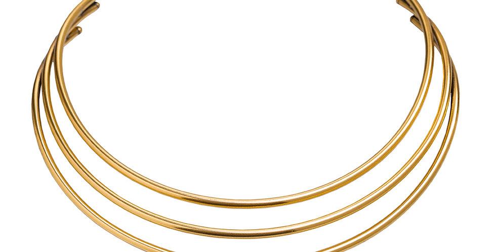 CHOKER TRIPLA GOLD