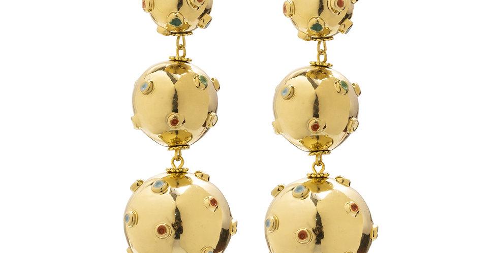 BRINCO TRIO BALLS GOLD