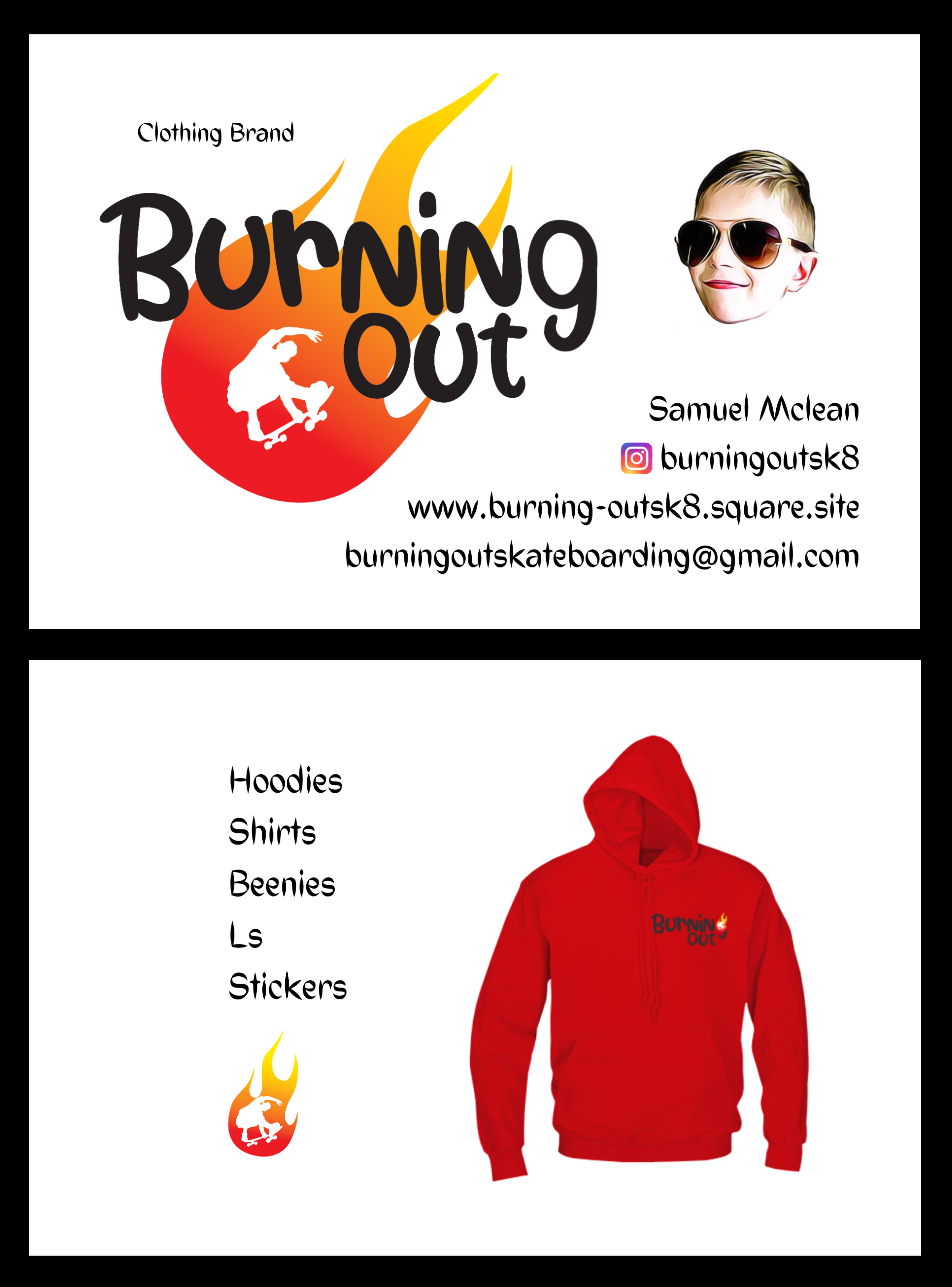Burningout clothing brand