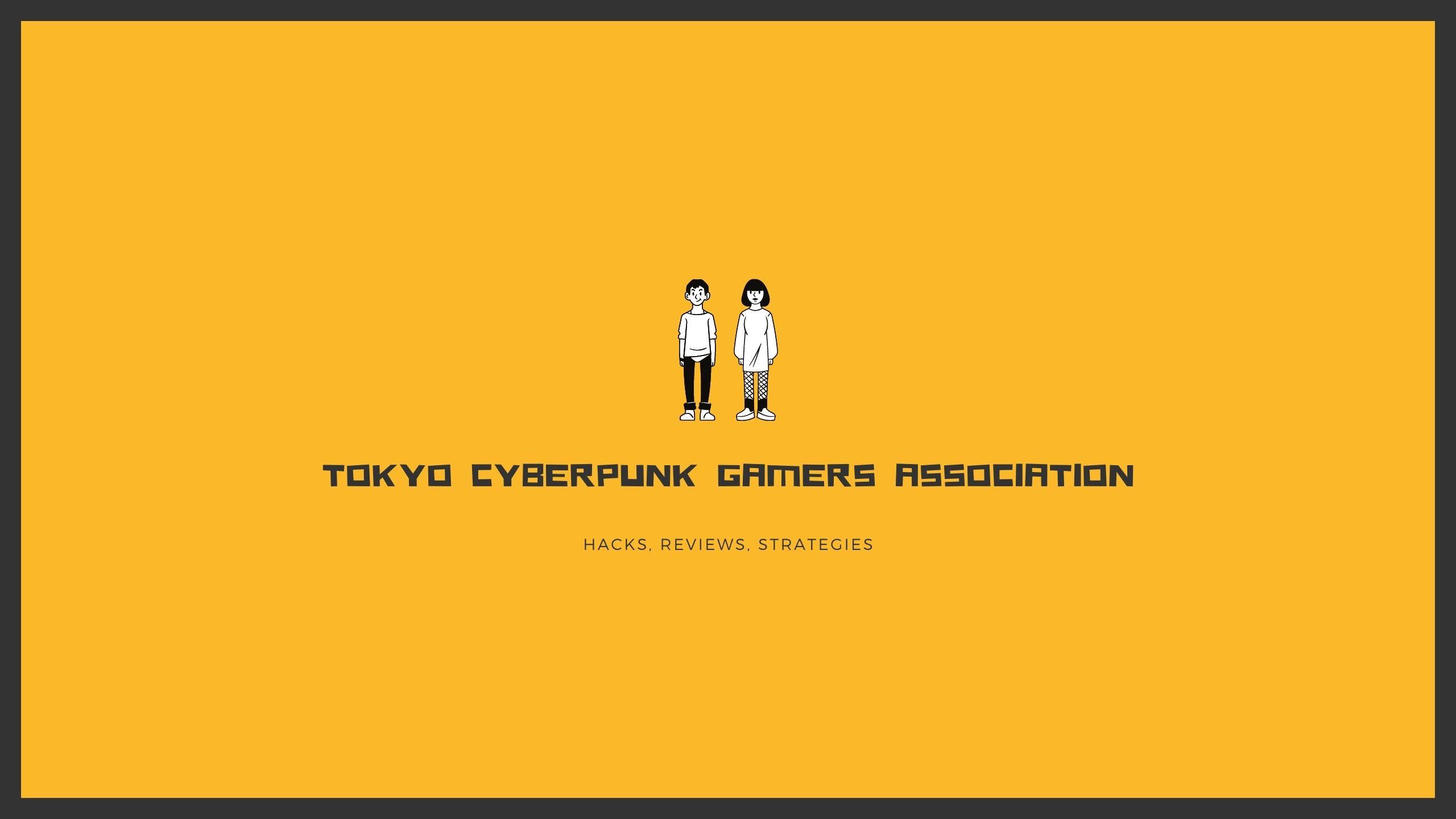 Tokyo Cyberpunk Gamers Association