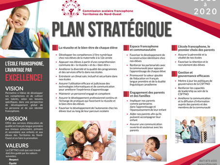 PLAN STRATEGIQUE 2015-2020