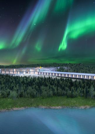 SkyWatch Luxury Hotel Project Yellowknife