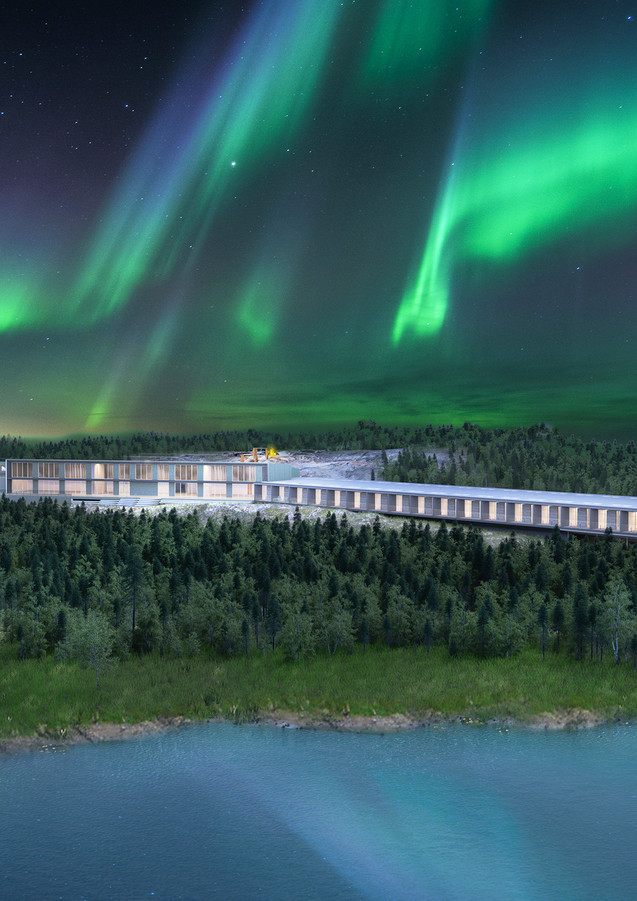 SkyWatch Luxury Hotel Project Yellowknife