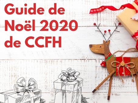 Guide des fêtes 2020 de CCFH!