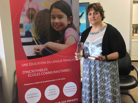 Félicitations Mme Careen !