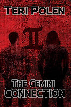 Book Title - The Gemini Connection; Book Cover - twin brothers walking away with their backs toward the book viewer with a roman numeral 2 between them.