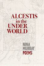 Book Title - Alcestis in the Under World; Book Cover - hand-drawn map of the under world