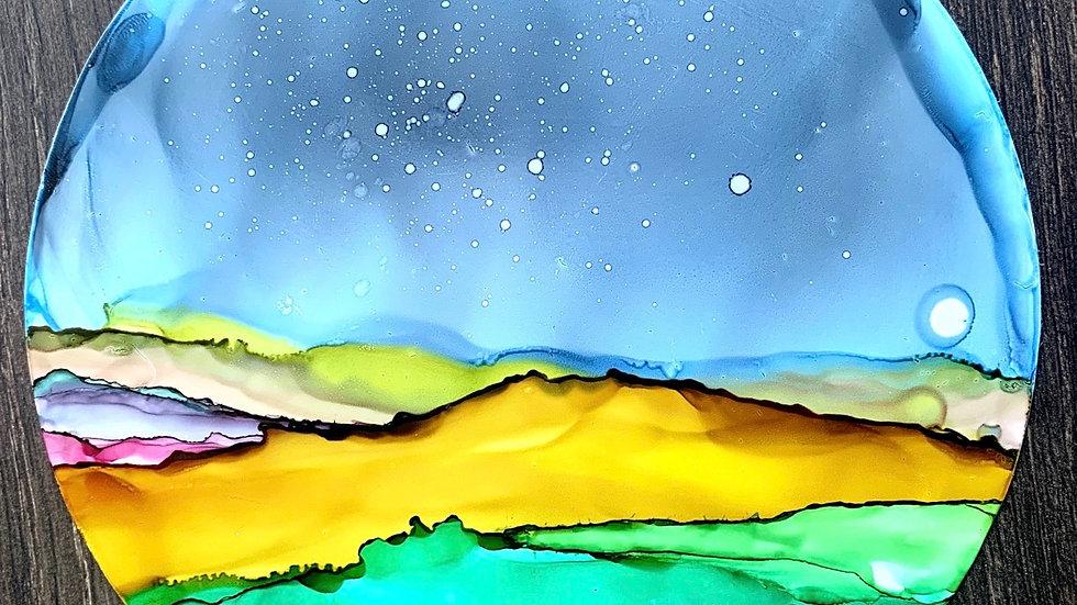 Moon Over Fields
