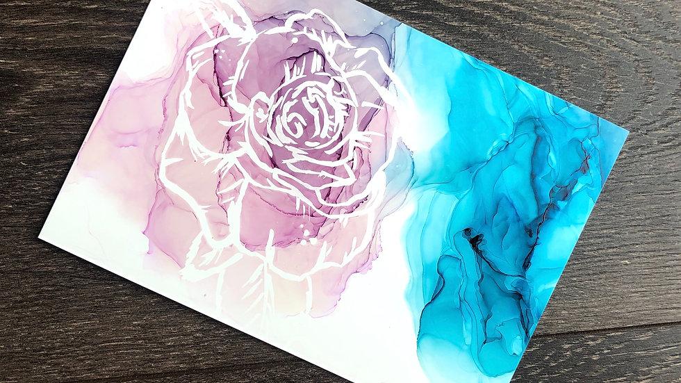 Pink Shadow Rose