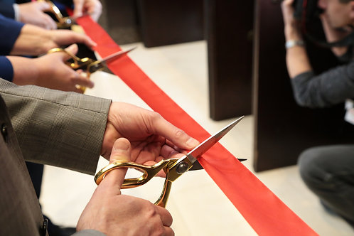 Gold Member Ribbon Cutting Event