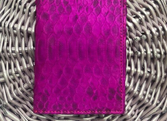 Обложка на паспорт из кожи питона