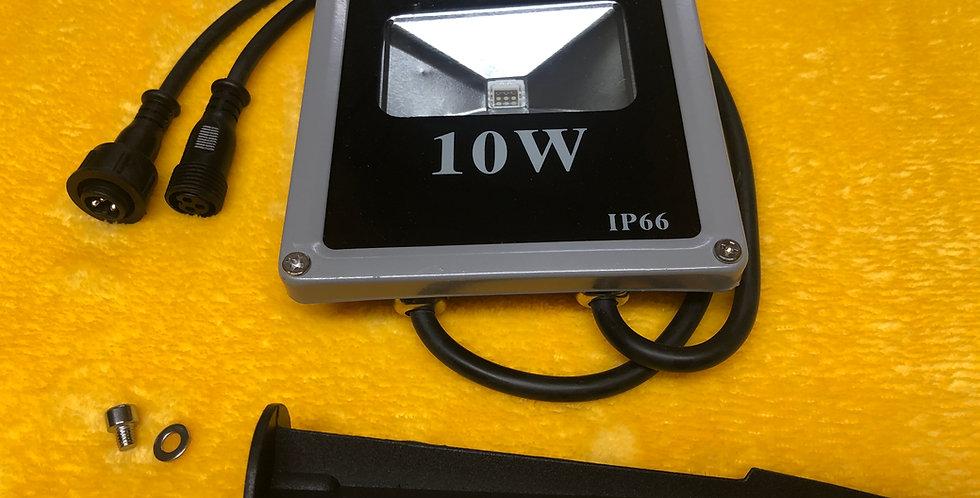 10 Watt WS2811 Flood With Spike