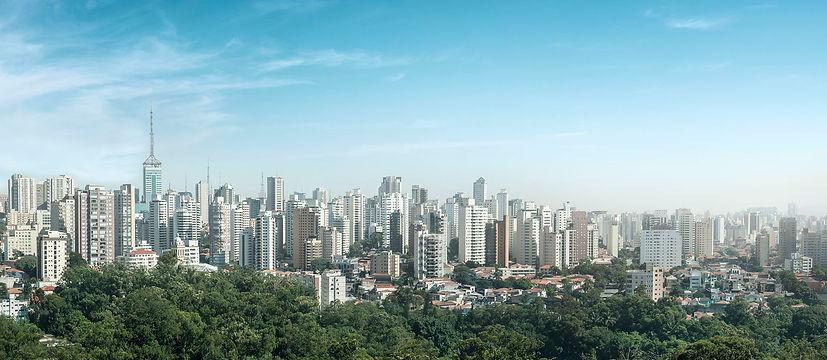 panoramica aerea de Sas Paulo