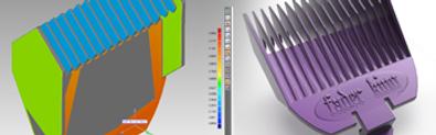 3D digital models of boxes representing printing files