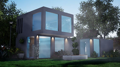 3D Architectual container home design by Marco Valenzuela