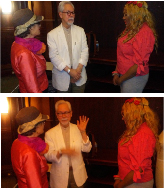Maria Barraza, Wilfredo Alvarez and Jewels Von J