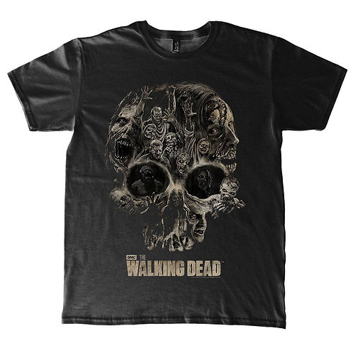 Walking Dead Skull T-Shirt