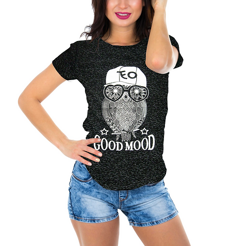 Owl Good Mood T-Shirt