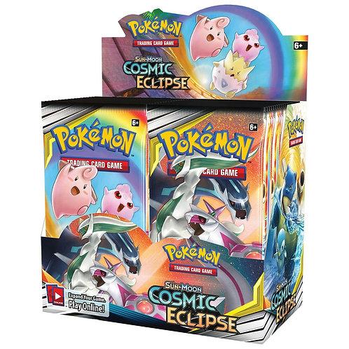 Pokemon Sun&Moon Cosmic Eclipse Booster