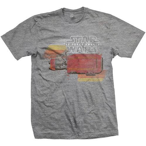 Gwiezdne Wojny Rey Retro T-Shirt